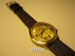 Vintage 1970's Bulova Accutron Tuning Fork Mens Watch 2182