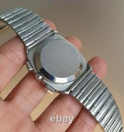 Vintage 1970's Longines Ultronic Tuning Fork Chronograph Ref. 2368 All Original