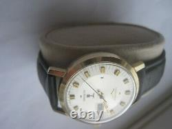 Vintage 1970s Longines Ultronic Tuning Fork Gents wristwatch Day & Date at 3