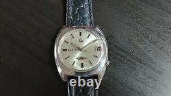 Vintage 1972 Bulova Accutron 2181 Tuning Fork watch. Serviced & Running
