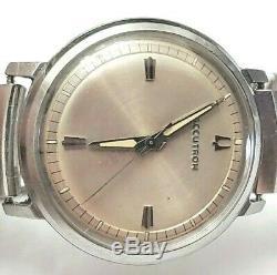 Vintage 1974 Bulova Accutron 214 Tuning Fork Mens Watch M4