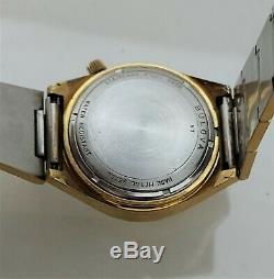 Vintage 1977 Bulova Accutron 2182F Tuning Fork Mens Watch N7