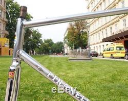 Vintage 1980s KLÖSCH Pinarello Columbus SL Road Bike Steel Frame + Fork 56cm