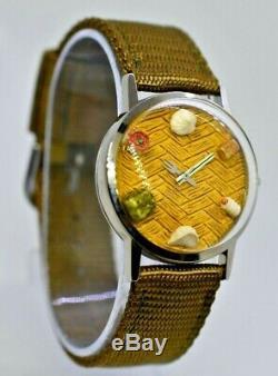 Vintage 1994 SHANGHAI TANG Sushi / Dim Sum Watch, Fork / Chopsticks Hands, NWOT