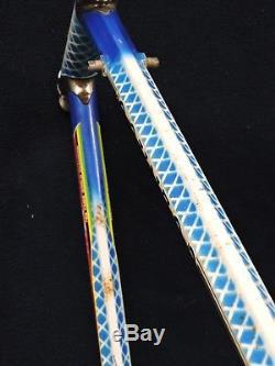 Vintage 58 cm Colnago Master Star Shaped Nivacrom Columbus Gilco Frame & Fork