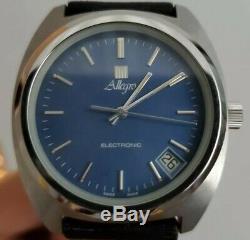 Vintage Allegro'Surf' GP Electronic Tuning Fork watch Zenith 50.0 NEWWOBWOW