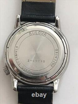 Vintage BULOVA Watches Accutron Mens Tuning fork 34mm Stainless Steel BHS