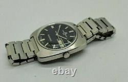 Vintage Baume&mercier Tronosonic Tuning Fork Man's Watch Original Strap