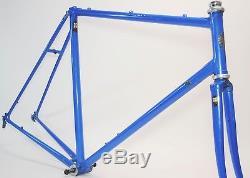 Vintage Bianchi 022 Ishiwata 27 Wheel Road Bicycle 58 CM Frame & Fork