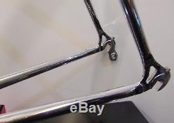 Vintage Bianchi EL/OS Columbus Steel Frame & Chrome Forks 56cm