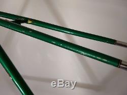 Vintage Bob Jackson 59cm Frame & Fork, Campagnolo BB, Headset & Dropouts. 58cm