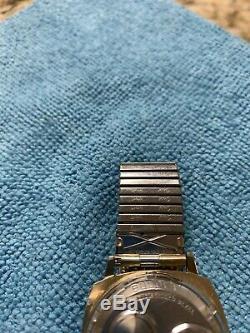Vintage Bulova Accutron 214 Square Case Florentine Rare Tuning Fork 10K GF N0