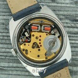 Vintage Bulova Accutron 218 2 Tuning Fork Men's Watch Runs Stainless + TV Dial