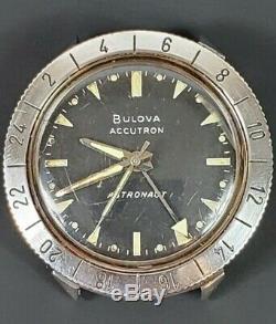 Vintage Bulova Accutron Astronaut M9 1969 Moon Landing 214 Stainless Tuning Fork