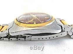 Vintage Bulova Accutron Day Date M1 Watch Tuning Fork Stainless Steel 35mm Mens