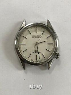 Vintage CITIZEN TUNING FORK HISONIC 3721-375068Y MENS WATCH Japan