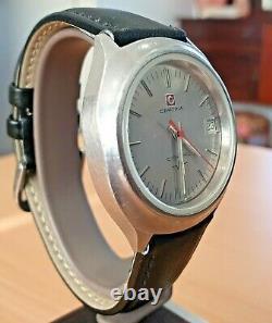 Vintage Certina C-Tronic SS Electronic Tuning Fork watch cal 29-151 ESA9162 RUNS