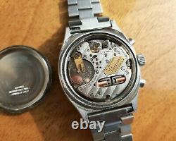 Vintage Certina Chronolympic C-Tronic ESA 9210 Tuning Fork Chronograph 1975