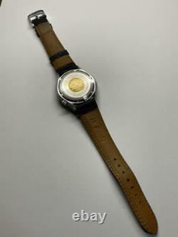 Vintage Citizen HISONIC Tuning Fork Cal. 3701 Gold Medallion Mens Watch