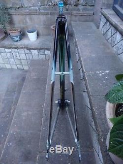 Vintage Colnago Master Olympic Decor tange superlight tube. Frame&fork Chris King