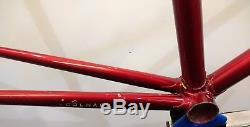 Vintage Colnago Super Pista Track FCI Steel Frame & Forks 58cm Columbus