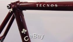 Vintage Colnago Tecnos Steel Frame and Forks 52cm Columbus Fully Restored