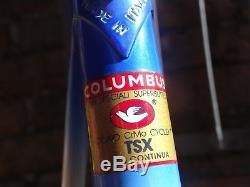 Vintage. Daccordi. Columbus TSX. Frame&fork. Campagnolo dropouts. L'Eroica