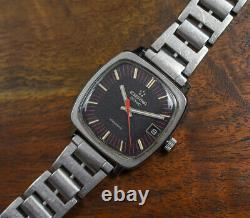Vintage ETERNA SONIC Tuning Fork Stainless Steel Watch JB Champion USA Band