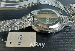 Vintage Eterna Sonic Kontiki Electronic Tuning Fork Watch GF Bracelet NOS'70s
