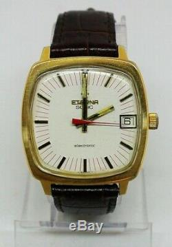 Vintage Eterna Sonic (cal 1550) ESA9162 Electronic Tuning Fork watch