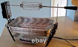 Vintage Farberware Open Hearth Indoor Electric Rotisserie Grill 455-N Tested USA