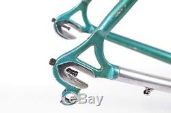Vintage Francesco Moser Road Bike Frameset 54cm C-C, F Moser Frame & Fork