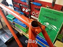 Vintage Holdsworth Professional SL Frame & Forks 21 Reynolds SL Tubing