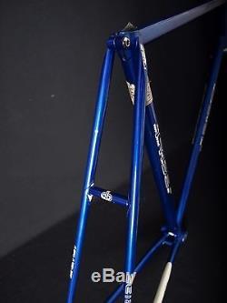 Vintage IRIBE Keirin NJS frame & fork 57,5 cm