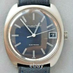 Vintage IWC Schaffhausen tuning fork electronic watch rare cal. 150 1970s