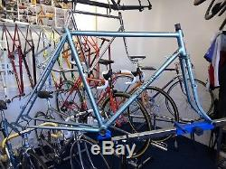 Vintage Jack Taylor Clubman Steel Frame & Forks 1946 with matching numbers RARE
