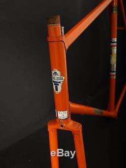 Vintage MERCIER RAYMOND POULIDOR frame & fork Reynolds 531