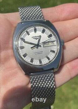 Vintage Mens 1970s LONGINES CONQUEST ULTRONIC (Tuning Fork), Stunning! 35mm