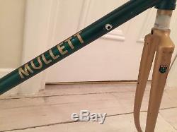 Vintage Mike Mullett 531c frame and forks, size- 50cm