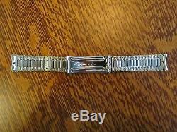 Vintage NOS Accutron Tuning Fork Signed 10K GF WATCH BRACELET 17mm 18mm 11/16