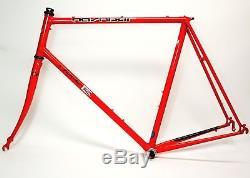 Vintage Nashbar 7000 R 700c Wheel Bicycle 60 CM Lugged Frame & Fork