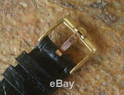 Vintage Near NOS Omega Geneve f300 hz Tuning Fork Electronic Watch LQQK! BUY