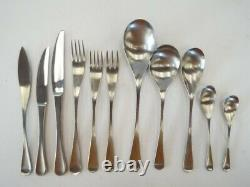 Vintage OLD HALL Cutlery Alveston 82 Piece Stainless Steel Service For 8 Y96