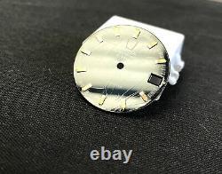 Vintage Omega 198.030 Mens Gold Cap Project w Blue Vignette Dial 1250 Move Fork