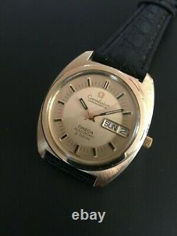 Vintage Omega Constellation F300 tuning fork watch working 1260 80 microns GF