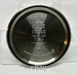 Vintage Omega Geneve Chronometer SS Tuning Fork watch ESA9164 runs