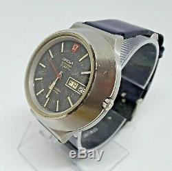 Vintage Omega Seamaster Chronometer f300 SS Tuning Fork watch The Cone