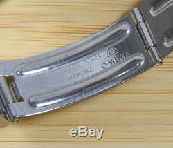 Vintage Omega Seamaster F300Hz Tuning Fork Diver Bakelite Bezel SS SERVICED