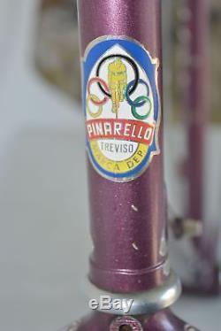 Vintage PINARELLO road frame and fork! DOLMEN tubing