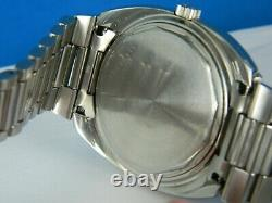 Vintage Rare Longines Ultronic 6312 Tunning Fork Stainless Mens Watch C. 1971